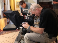 Bruce Liffiton shooting the Canon C300