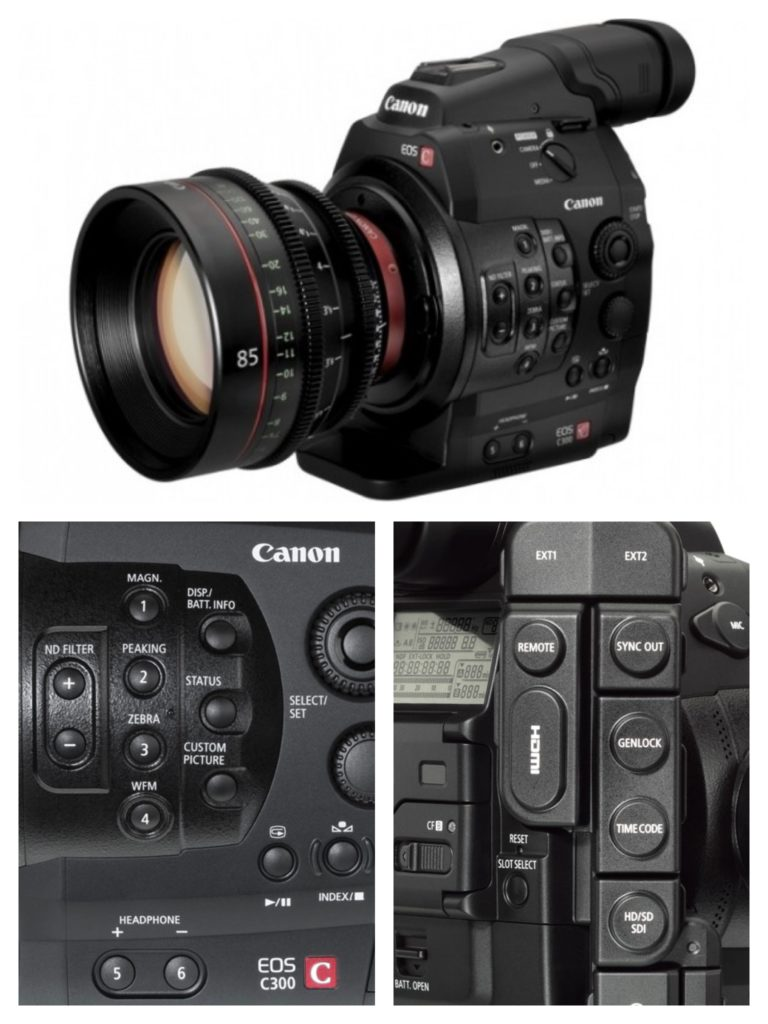 Visual Edge Canon EOS C300